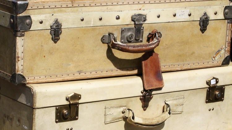 Til bedst at pakke kufferten til rejsen