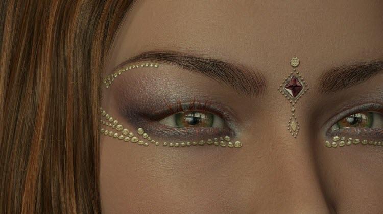 Til at vælge de rigtige smykker og den rigtige makeup