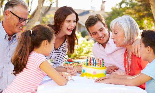 Til at afholde den perfekte fødselsdagsfest